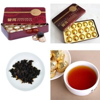 Wholesale Free Tea Tins - Black hot sales Pu'er Tea taste Pu'er Tea, Yunnan Pu'er Tea, micro tin box, Chinese gift, free delivery of green coffee