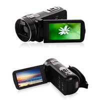 Wholesale HW inch LCD Rotation Touch Screen Full HD P Reflex Digital Photo Cameras Free Ship