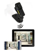 Wholesale Iphone App Video - Mini Wifi IP Camera DV Camcorder Video Recorder Support iPhone Android APP Remote View MD81 MD81S