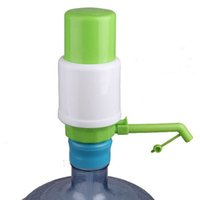 Wholesale New Drinking Hand Press Pumps - Wholesale- New Qualified 2016 5 NEW Gallon Bottled Drinking Water Hand Press Manual Pump Dispenser Levert Dropship dig6427