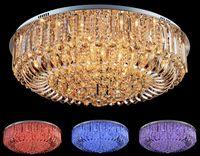 Wholesale Cottage Homes - Modern K9 Crystal LED Chandelier Ceiling Light Pendant Lamp Lighting 50cm 60cm 80cm pendant lamp home decoration