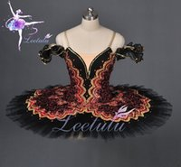 Wholesale dance dresses for sale online - Hot sale Adult Ballerina Dresses Professional classical Ballet Tutu for big theatre dance performace