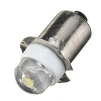 P13.5S PR2 0.5W LED para foco Lanterna Replacement Bulb Torches Work Light Lamp 60-100Lumen Pure Warm White DC3V 6V