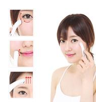 Wholesale Pen Face Massager - eye massager face massager face care massager mini electric Ion vibration anti wrinkle facial wrinkle remover pen