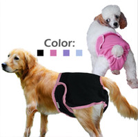 Wholesale Dog Menstrual Pants - Small medium and large dog physiological pants, bitch physiological pants, pet physiological pants, Golden Taidi menstrual protection pants