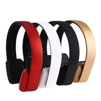 Wholesale Gaming Headset Usb - Bluetooth 4.1 headphone wireless Stereo earphone headset handsfree AUX music sport gaming with MIC for phone computer