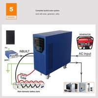 Off Grid 6000Watts 6KW Solar Kit residenziale Home Energy Kit per uso domestico con tutti gli accessori