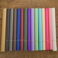 Wholesale Pure color flower packaging paper high grade kraft paper gifts bouquets packaging materials processing custom made