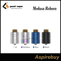 Wholesale Access Building - GeekVape Medusa Reborn RDTA Tank 3.5ml Quick Access System with 810 and 510 Drip Tip Upgraded Build Deck RDTA Tank 100% Original