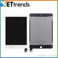 Wholesale Ipad Mini Lcd Digitizer - Quality AAA Original LCD Touch Screen Panel for iPad Mini 4 LCD Display & Touch Digitizer Full Assembley DHL Free Shipping AA0452