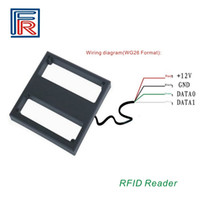 Wholesale Readers Park - 2017 Hot 125KHZ 1M RFID Mid Long Range Reader for Outdoor Parking System use EM cards without software