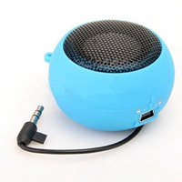 Wholesale hamburger mini speakers for sale - Group buy Colors Universal Wired Subwoofer Speaker mm Plug Mini Hamburger Portable Computer Speaker For iPhone For iPad For Samsung