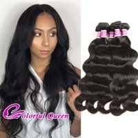 4pcs Malásia Cabelo Straight Body Wave Kinky Curly Deep Wave Loose Wave Cabelo Humano Bundles Ternos Atacado Malásia Virgin Hair 400g / Lot