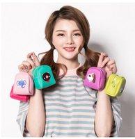 Wholesale Wallets Order - YW BaoXuan 17 Styles Lovely Leather Mini Coin Purses Wallets Zipper Key chain Bags 50PCS Min order Free Ship