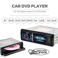 Wholesale Din Detachable - 3 Inch 1 Din Bluetooth Car DVD Player Touch Screen Built-in Microphone with Detachable Front Panel Support DVD CD SD USB AUX CMO_21U