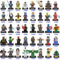 512+ Building Blocks Super Hero Figuras Juguetes The Avengers Juguetes spider-man Juguetes Mini Figuras de acción Bricks Christmas gifts