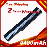 Wholesale Asus K42 Battery - Wholesale-Laptop Battery For ASUS A31-B53 A32-K52 A42-K52 A31-K52 A41-K52 A42 A42D A52JB A62 K42 K52J K52JB K52JC K52 K52D K52DR K52JC