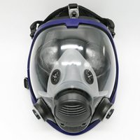 Wholesale Masks For Painting - Wholesale- Updated Full Face Mask For 3M 6800 Gas Mask Full Face Facepiece Respirator For Painting Spraying Free Shipping