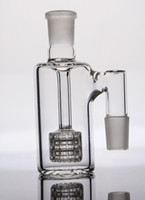 Wholesale mm joint ash catcher for bong for sale - In STOCK ashcatcher with stereo matrix perc glass ash catcher with mm joints for glass bong water pipe