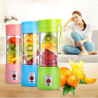 Wholesale Home Electric Mixer - USB Rechargeable Electric Fruit Juicer Cup Blender Fruit Vegetable Tools Home Garden Kitchen Tools