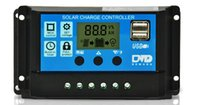Wholesale solar panel charge controller regulator for sale - New Black Controllers A Solar Panels Battery Charge Controller Automatic Conversion Amps Lamp Regulator Timer Factory Direct Sale dm A