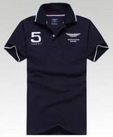 Wholesale England Tshirt - England Design Mens Hackett Sport Polo Shirt Brands London Casual Polo Shirts Brand Clothing Short Sleeve Summer Active Tshirt