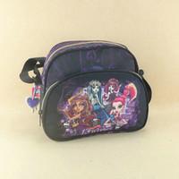 Wholesale Girls Shoulder Bag For School - Wholesale- Monster High women's shoulder bag for girls,ladies bag,messenger school bags for youth