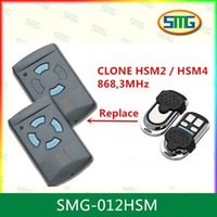 Wholesale 868mhz remote - Wholesale- Hormann Universal Cloning Electric Gate Garage Door Remote Control Key Fob 868mhz Cloner