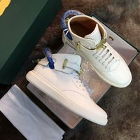 Wholesale Size Wedge Sneakers - Unisex Increased Wedges 950 Men Trainer Boost Shoe Gold Lock Logo Ankle Boot High Top lock Women 750 Leisure Sneakers Plus Size 35-46