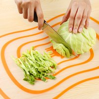 Wholesale Block Cut - New Fashion 4Pcs Set Plastic Chopping Board Cooking Mat Block Antibacterial Classification Non-slip Cutting Board Kitchen Tools