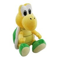 Wholesale Turtle Cute Doll - Wholesale-Super Mario Bros 6' Koopa Troopa Turtles Plush Stuffed Doll Figure Cute Kid Gift