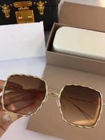 precio de gafas de sol sin marco de sol del diseador de la