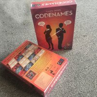 Wholesale Newest Codenames Party Game Funny Games For Adults Social Word Game A Simple Promise And Challenging Game Trading Card Games CCA6634