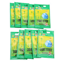 Wholesale Glow Clips - Wholesale- 50pcs 3.0*25mm Fishing Fluorescent Lightstick Light Night Float Clip On Dark Glow Fishing Accessories