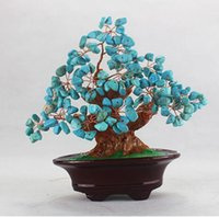 Wholesale Money Tree Decoration - Crystal rich tree Lucky tree tree handicraft furnishing articles and opening office gift