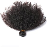 Wholesale dye curly brazilian hair for sale - Group buy Peruvian Virgin Human Hair Afro Kinky Curly Unprocessed Remy Hair Weaves Double Wefts g Bundle bundle Can be Dyed Bleached Fedex