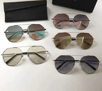 Wholesale Colored Glasses For Men - New Men Women Sunglasses Summer Sun Glasses Brand Fashion Sunglasses Big Frame Sunglasses for Women Style Light Colored Lens Original Box
