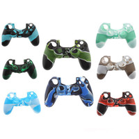 Decalques Silicone Camo Camouflage Soft Protection Cover Case Skin para PS4 / ps3 / xboxone / xbox 360 Controller
