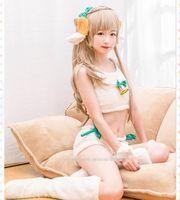 Wholesale Kotori Anime - HOT NEW LOVE LIVE Cosplay Anime Minami Kotori Cotton Wool Cloth With Soft Nap Animal Suits