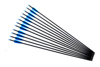 Wholesale Recurve Hunting Bow - Hunting arrows Carbon Shaft 30 Inch Arrows with Replacement Screw-in Field Points for compound & recurve bow