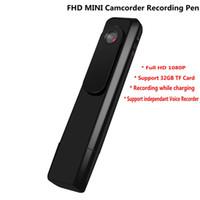 Wholesale Hd Micro Sports Camera - IDV C181 Portable Mini Camera Micro Body Camara 1080P Full HD Mini DV DVR Sport Camcorder Voice Video Recorder Recording Pen ann