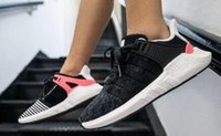 Wholesale Original Items - 2017 New Items!Men Running Shoes EQTSUPPORT Originals boost EQT Support 93 17 Ultra boost Runner Sports Sneakers 36-44