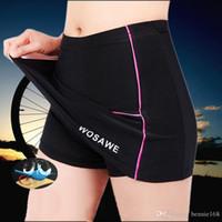 Wholesale Girls Bike Pants - Hot Sale WOSAWE Cycling Skirt Short Comfortable 3D Padded Mini Skirt For Women Girls Riding Mountain Bike Bicycle Cycle Short Pants S-XL