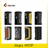 Wholesale Aluminum Battery Boxes - 100% Original Geekvape Aegis 100W TC Box Mod Aluminum + Zinc Alloy + Silicone For Authentic 1x 18650 26650 Battery VW VPC TCR Mod