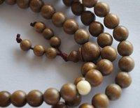Wholesale Sandal Wood Bracelet - real nature 8mm 108 sandal wood necklace tibet bracelet 2016 vintage bracelet