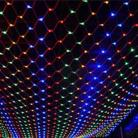 tubos de imersão venda por atacado-Led Luzes Da Corda 3 M x 2 M 200 LEDs Net Malha Fada Twinkle flash lâmpada Home Garden Natal Xmas Guirlanda de Natal Decoração Luz Da Noite