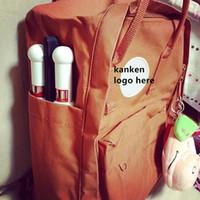 Wholesale Korean Multi Backpack - Classic Pack Vinylon F Canvas Print Backpacks Casual Zipper Closure Knapsack Bags Women's Double Shoulder Bags