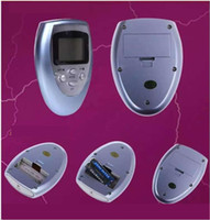 Wholesale Muscle Stimulator Wholesale - TENS UNIT TENS Slimming Massager Electrical Nerve Muscle Stimulator Digital physical therapy machine Physiotherapy massager DHL FREE
