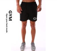 Wholesale Clothes Man Shorts - Wholesale- New Hot Sale Men Bodybuilding Short Fitness Workout Clothes Muscular Jogger Muscle Wears 4 Colors Size M-XXL