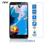 Wholesale Touch Screen Protection Film - Wholesale- 0.3mm Tempered glass for Lenovo A2020 Super Saver touch screen explosion protection film for lenovo A 2020 9H hard 2.5D flim